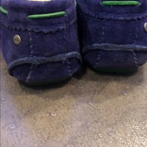 UGG Shoes - Ugg driving moccasins navy blue kelly green 7.5